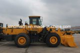 Maquinaria Gz957z de Sinomach da engenharia e de construção carregador da parte dianteira da roda de 5 toneladas