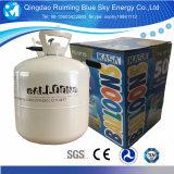 昇進30lbの小さいヘリウムタンク使い捨て可能なヘリウムシリンダーはヘリウムのガスを大きさで分類する