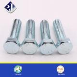 Vendita calda DIN933/DIN931/DIN6921 tutto il bullone Hex galvanizzato del acciaio al carbonio dei gradi