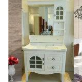 Туалетный столик в ванной комнате ПВХ кабинета Белого цвета