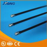 Fascetta ferma-cavo rivestita Handmade professionale dell'acciaio inossidabile del PVC