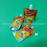 Пэт/ПЭТ/PE Doypack с носик для напитков, соды, фруктовый сок