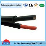 cable solar del picovoltio de la base gemela 2*4mm2 para el TUV aprobado