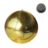 Шарик празднества этапа стеклянного шарика отражения зеркала света шарика зеркала бального зала вися