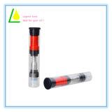 Vaporizzatore all'ingrosso di vetro di corrente d'aria della parte superiore dell'olio di canapa di Cbd Thc 0.5/1.0ml