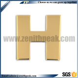 Latón Antiguo Egipto antigua insignia metálica de estilo de diseño en 3D.