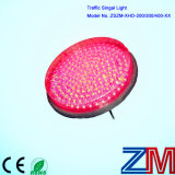 Modulo infiammante rosso pieno ad alta intensità del semaforo della sfera LED con l'obiettivo chiaro