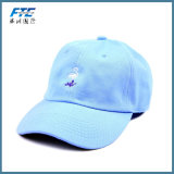Blanc 6 style coloré du panneau de coton de qualité de Sport de Baseball Caps Hight