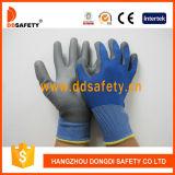 Doublure en nylon Ddsafety 2017 Polyester enduit PU sur la paume et les doigts de gant
