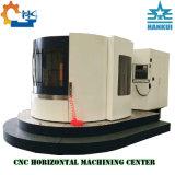 Centre d'usinage CNC horizontal de la palette changeur rotatif de type de structure