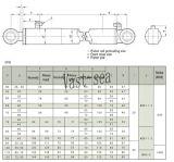 掘削機は二重代理の掘削機の水圧シリンダをのための分ける