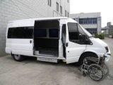 Le levage de fauteuil roulant pour Van Can Load 300kg installent dans la porte moyenne avec le certificat de la CE