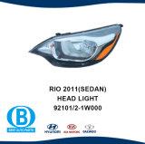 KIA Rio 2011 berline projecteur 92102-192101-1W000 W000