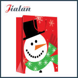 157g Art Paper Merry Christmas Holiday Design Bolsa de roupa de papel