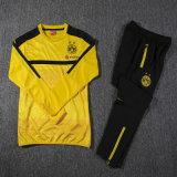 黄色いスポーツのスーツのトラックスーツの換気のウォーミングアップのための乾燥した湿気のWickingのスポーツ・ウェア