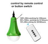 Minihauptsolarbeleuchtungssystem für Beleuchtung und die bewegliche Aufladung