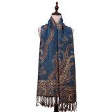 大型196*90cmの花模様の冬のスカーフ