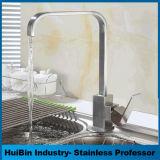 La mejor calidad gran descuento Baño de Agua Potable solo resistente Mango de acero inoxidable 304 grifo de cocina