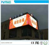 Visualización de LED fija normal al aire libre a todo color de la instalación P6