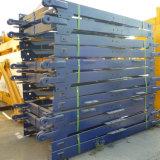 Stahlkonstruktion-Basis-Unterseiten-Mast-Kapitel des Turmkran-7.5m