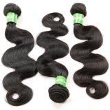 Cabelo brasileiro da onda do corpo da extensão do cabelo do Virgin do cabelo humano das mulheres 100%