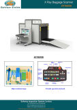Scanner del bagaglio dei raggi X - per i bagagli della valigia del carico di scansione