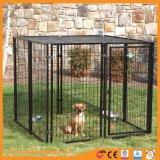 Malla de alambre de metal soldado de la jaula de mascota perro Play Pen