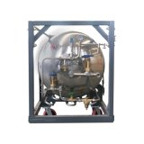Cilindro de nitrogênio líquido horizontal 499L-2.5MPa