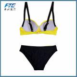 Niedrige Taillen-Bikini-Badebekleidungs-Form-reizvolles Bikini-Set