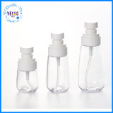 Claro mayorista de plástico envases cosméticos PETG rocío fino Spray Bottle