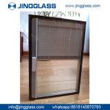 Porte isolée bon marché en gros de guichet en verre de construction de bâtiments de sûreté de catalogue des prix