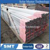 Matériau aluminium solaire CMS rayonnage de montage au sol