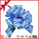 Blue pom-pom tirar de proa para la decoración de regalos
