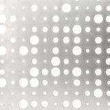 La couleur en aluminium avec revêtement en métal perforé Feuille d'écran
