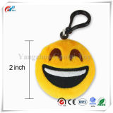"Emojiぽんと鳴らしなさいプラシ天の枕Keychain Emoji党供給の好意車のキーホルダーの吊り下げ式のKeychainの装飾2を"""