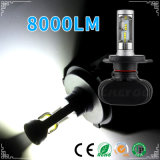 HID Ballasts와 Auto Lamp를 가진 최고 Bright 8000lm 9007 Car LED Headlight