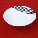 Insieme di pranzo di ceramica della nuova decalcomania di disegno