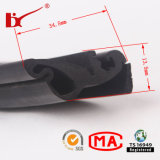 Automobile Accessory Extruded Rubber Strips per Door e Window