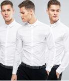 ينقذ قميص نحيفة 3 حزمة في أبيض قميص