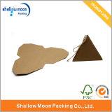 Boîte adaptée aux besoins du client de papier d'emballage de forme de triangle (QYZ274)