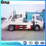 Type bon marché ordures de bras d'oscillation de la Chine de camion d'ordures rassemblant le camion