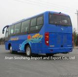 Hete Verkoop Shaolin 37-40seats 8.5m Diesel van de Motor van de Bus de Achter en CNG