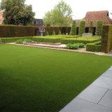 60mmの高さ18900の密度Lfg10の屋内屋外の装飾的な人工的な草のカーペットの敷物