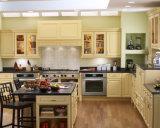 Ritz precio de fábrica maciza Cocina de madera del gabinete de diseño