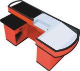 Caisse de sortie d'épicerie avec la courroie électrique