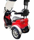 De hete Verkopende Autoped of de Rolstoel van de Mobiliteit Ectric van 2016 Volwassen met het Windscherm