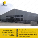 40X125M énorme tente de la Construction avec toit en métal pour des événements