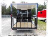 De glas re-Afgedwongen Vrachtwagen Van uitstekende kwaliteit van het Voedsel van de Aanhangwagen van het Voedsel van het Comité Mobiele voor Verkoop