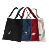 2018 chaud logo brodé personnalisé de vente des sacs en toile de coton