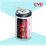 Eva primaria Litio Er14250 Lisocl2 Tipo bobina baterías Batería de litio cloruro de tionilo